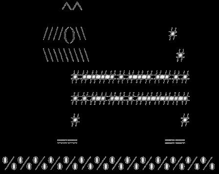 Рисунки из черточек на клавиатуре